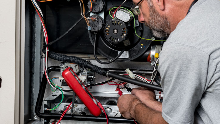 Schedule furnace repair with